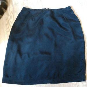 M.T. Morgan Taylor Studio 100% Silk Skirt